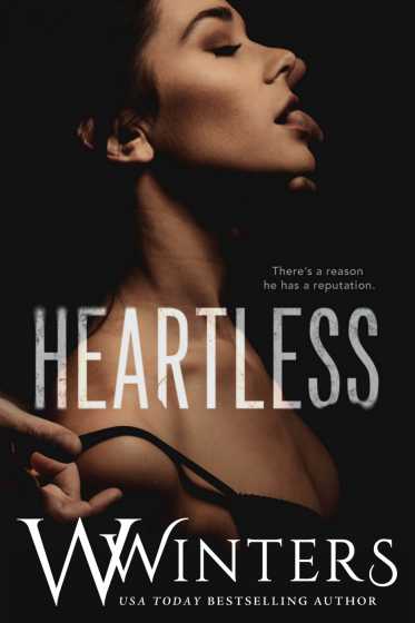 Cover Reveal & Giveaway: Heartless (Merciless Saga #2) by Willow Winters