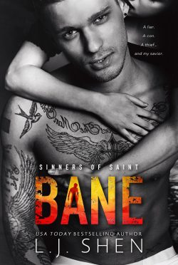 Cover Reveal: Bane (Sinners of Saint #4) by LJ Shen
