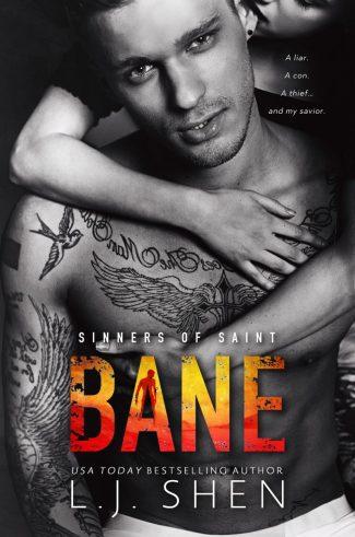 Cover Reveal: Bane (Sinners of Saint #4) by LJ Shen