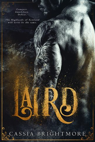 Cover Reveal: Laird by Cassia Brightmore