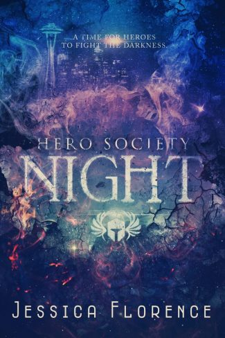 Cover Reveal: Night (Hero Society #4) by Jessica Florence