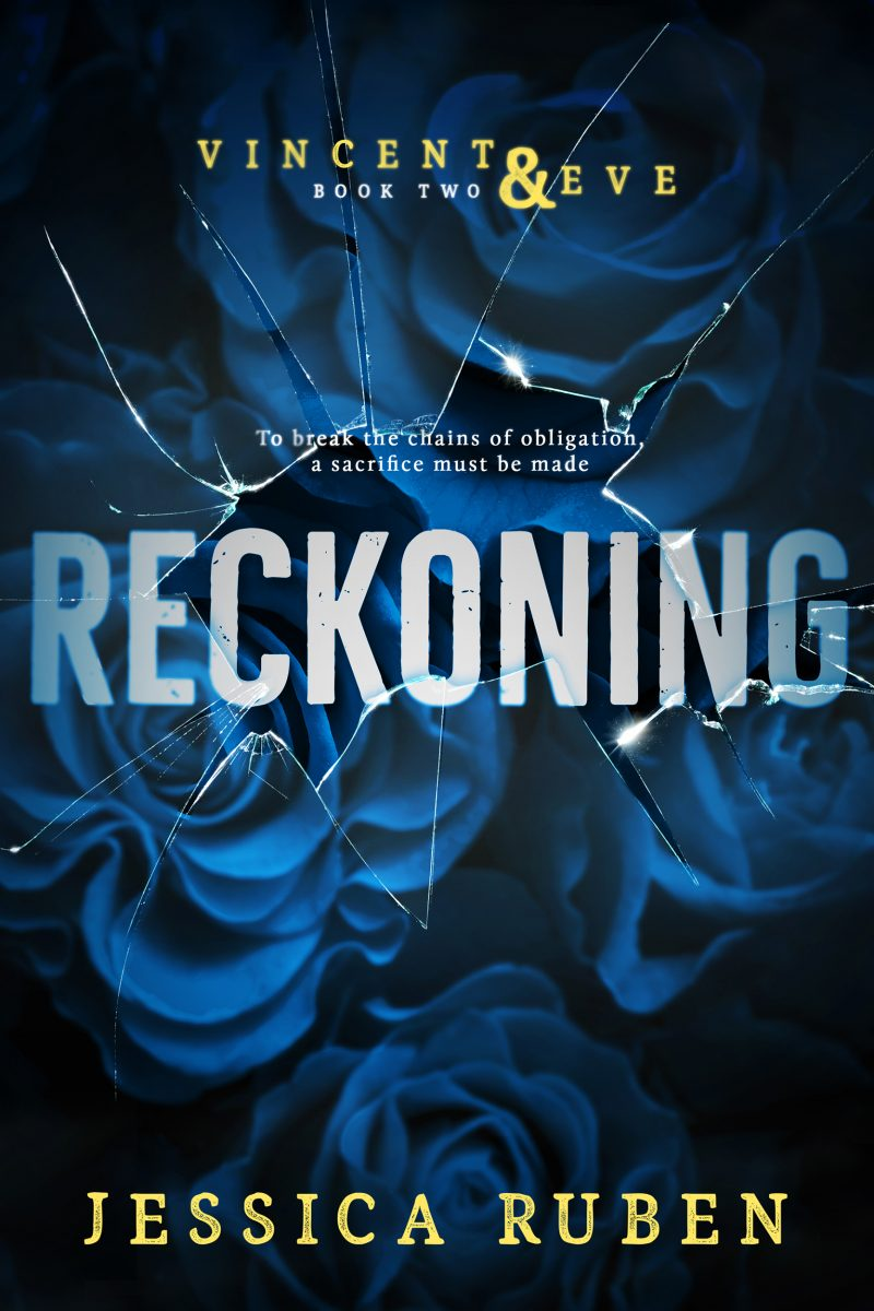 Cover Reveal: Reckoning (Vincent & Eve #2) by Jessica Ruben