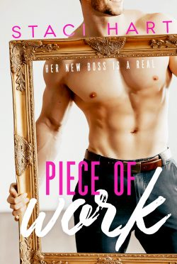 Cover Reveal: Piece of Work by Staci Hart