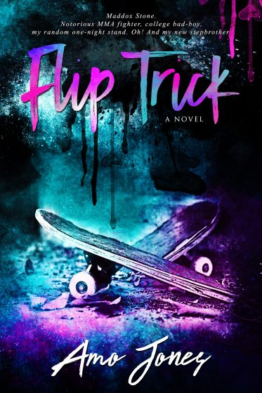 Cover Reveal: Flip Trick by Amo Jones