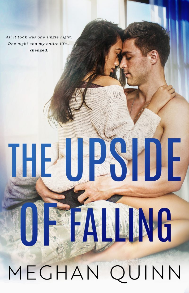 Cover Reveal: The Upside of Falling (The Blue Line Duet #1) by Meghan Quinn