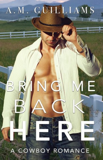Cover Reveal: Bring Me Back Here by AM Guilliams