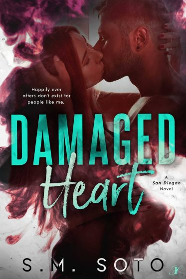 Cover Reveal: Damaged Heart (San Diegan #3) by SM Soto