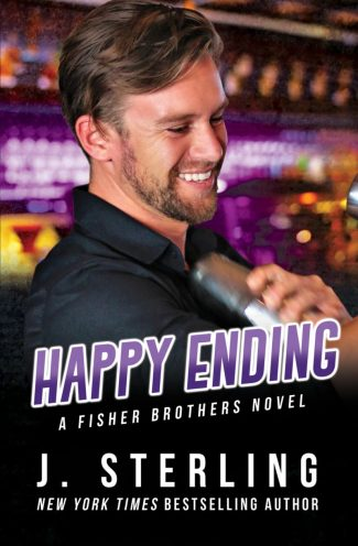 Cover Reveal: Happy Ending (Fisher Brothers #4) by J Sterling