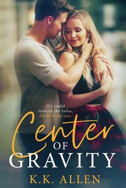 Cover Reveal: Center of Gravity by KK Allen
