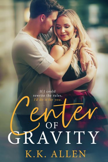 Cover Reveal: Center of Gravity by KK Allen