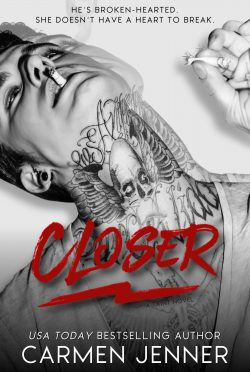 Cover Reveal: Closer (Taint #2) by Carmen Jenner