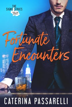 Cover Reveal & Giveaway: Fortunate Encounters (Signs #1) by Caterina Passarelli
