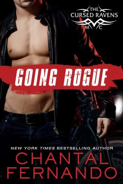 Release Day Blitz: Going Rogue (The Cursed Ravens MC #3) by Chantal Fernando
