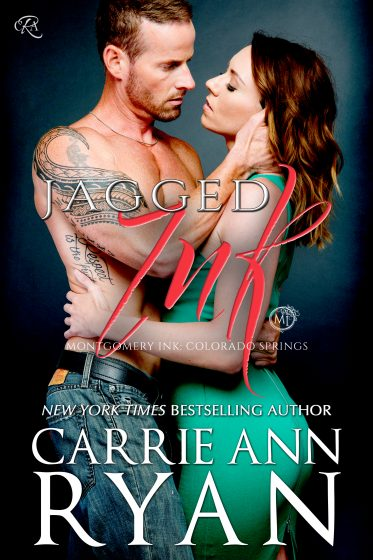 Cover Reveal: Jagged Ink (Montgomery Ink: Colorado Springs #3) by Carrie Ann Ryan