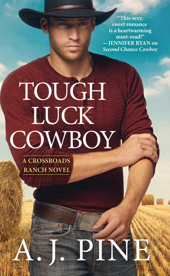 Release Day Blitz & Giveaway: Tough Luck Cowboy (Crossroads Ranch #2) by AJ Pine