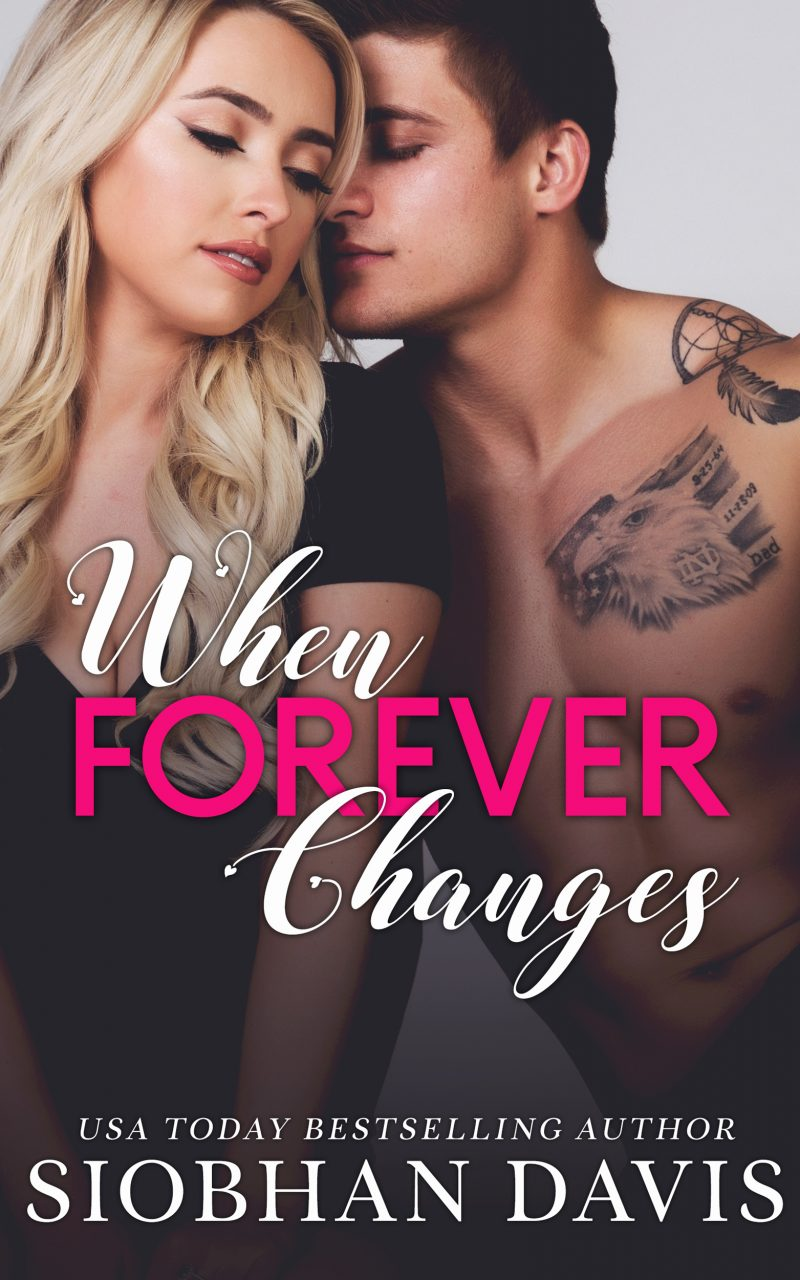 Cover Reveal: When Forever Changes by Siobhan Davis