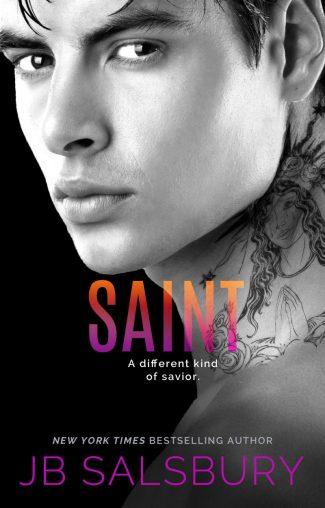 Cover Reveal: Saint (Mercy #2) by JB Salsbury