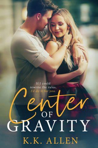 Release Day Blitz: Center of Gravity by KK Allen