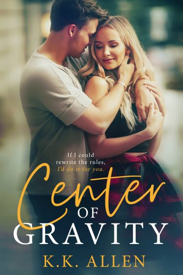Release Day Blitz: Center of Gravity by KK Allen