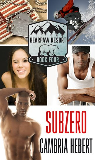Cover Reveal: Subzero (BearPaw Resort #4) by Cambria Hebert