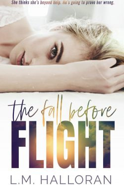 Cover Reveal: The Fall Before Flight by LM Halloran