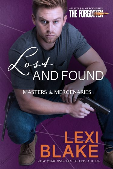 Cover Reveal: Lost and Found (Masters & Mercenaries: The Forgotten #2) by Lexi Blake