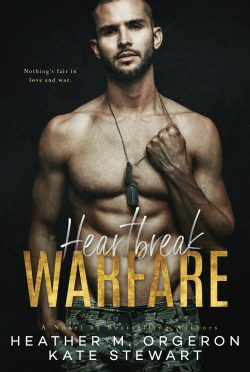 Cover Reveal: Heartbreak Warfare by Heather M Orgeron & Kate Stewart