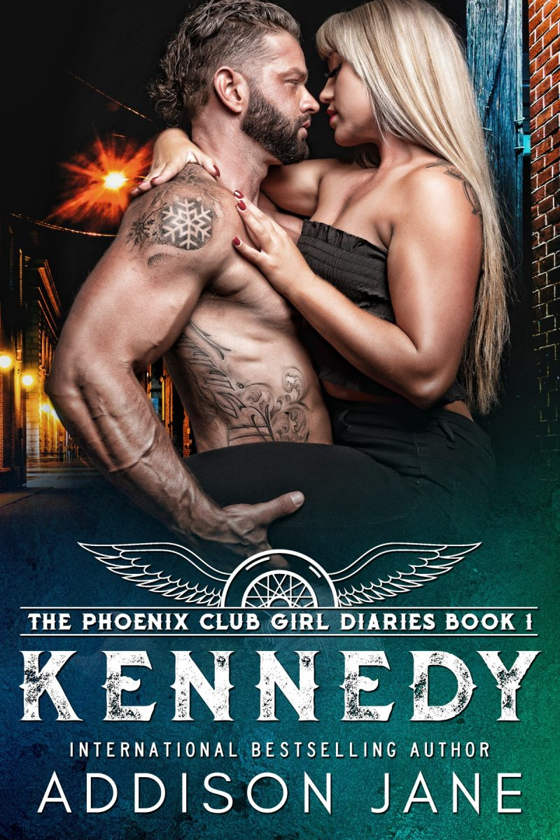 Cover Reveal: Kennedy (The Phoenix Club Girl Diaries #1) by Addison Jane