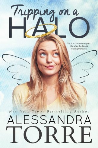 Cover Reveal: Tripping on a Halo by Alessandra Torre
