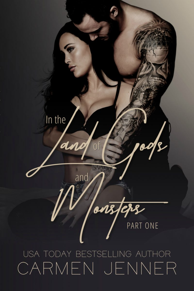 Cover Reveal & Giveaway: In the Land of Gods and Monsters (Gods and Monsters Duet #1) by Carmen Jenner