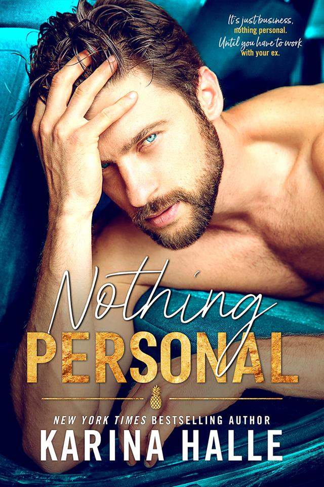Cover Reveal: Nothing Personal by Karina Halle