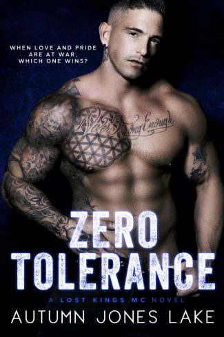 Cover Reveal: Zero Tolerance (Lost Kings MC #12) by Autumn Jones Lake