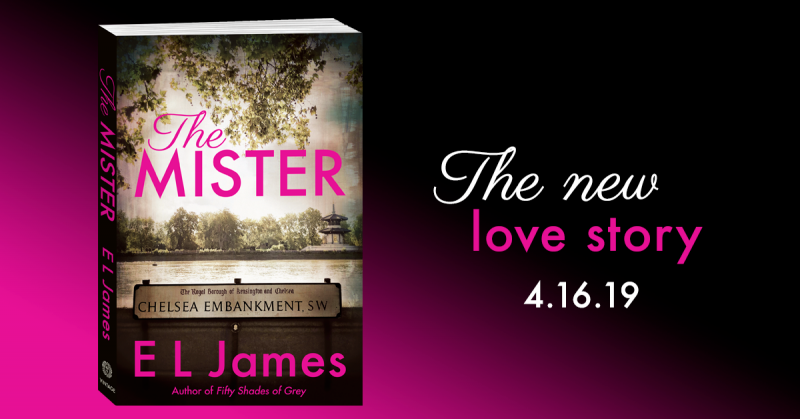 Cover Reveal: The Mister by EL James – Books to Breathe