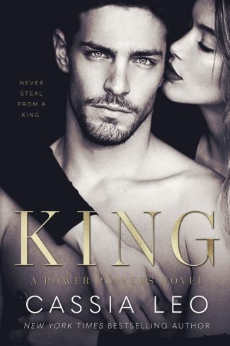 Cover Reveal: King (Power Players #1) by Cassia Leo