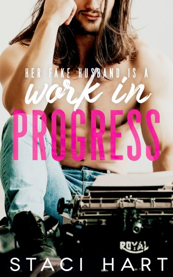 Cover Reveal: Work in Progress by Staci Hart