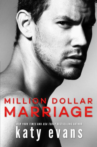 Cover Reveal: Million Dollar Marriage by Katy Evans