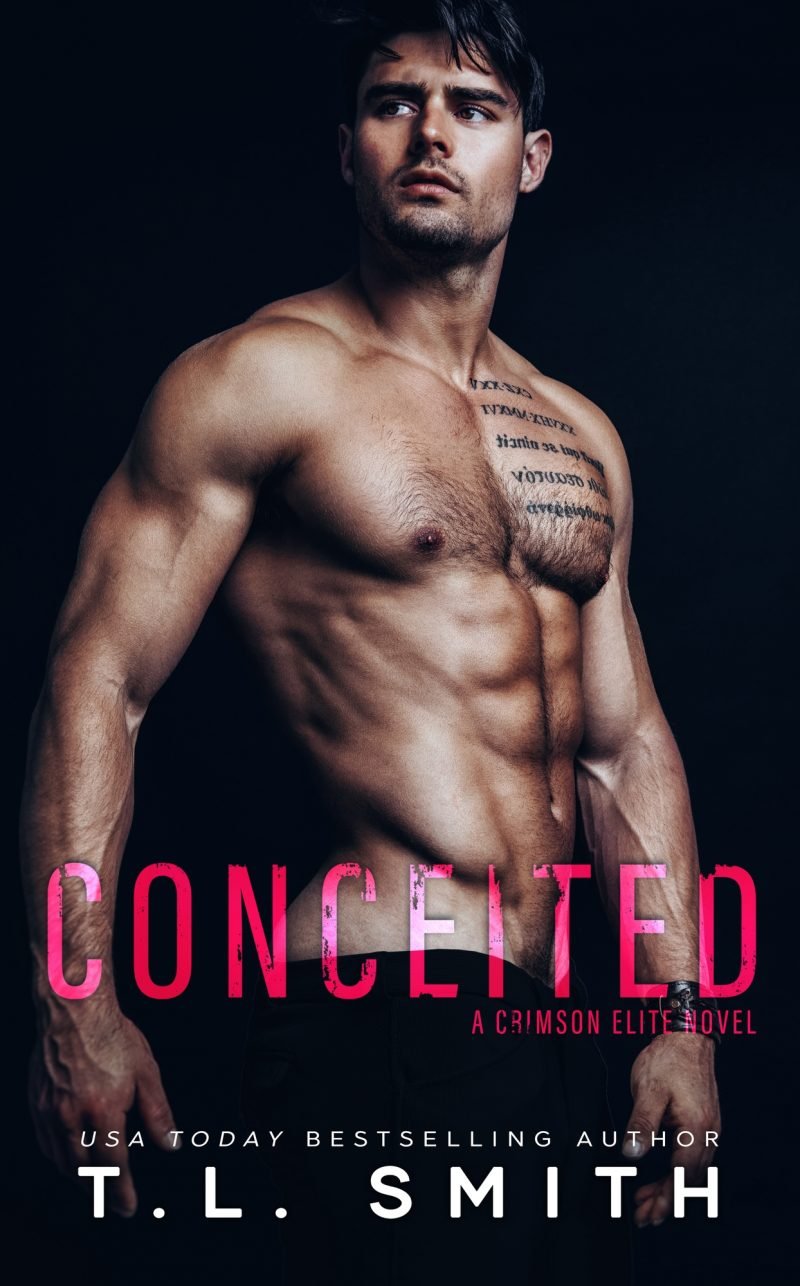 Cover Reveal: Conceited (Crimson Elite #3) by TL Smith