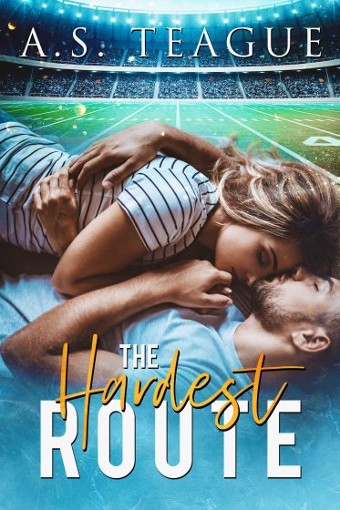 Cover Reveal: The Hardest Route by AS Teague