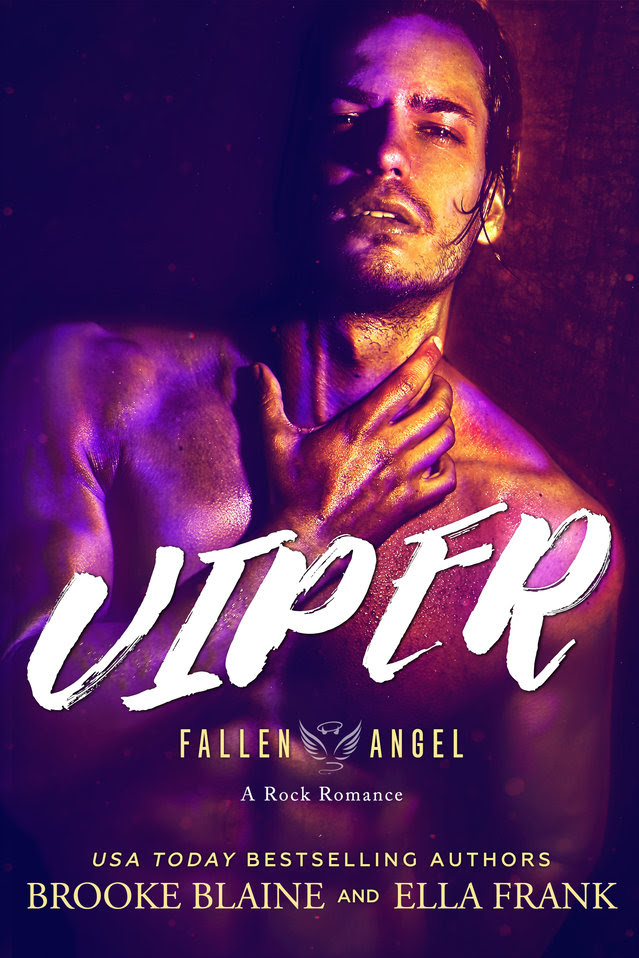 Cover Reveal: Viper (Fallen Angel #2) by Ella Frank & Brooke Blaine
