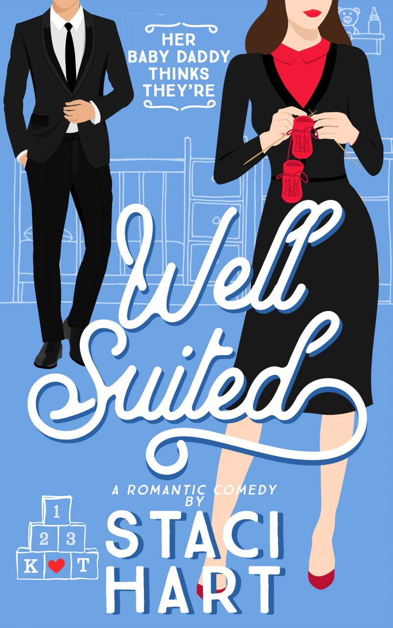 Cover Reveal: Well Suited (Red Lipstick Coalition #4) by Staci Hart