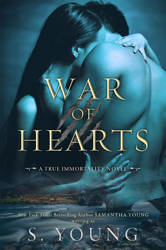 Cover Reveal: War of Hearts (True Immortality #1) by S Young