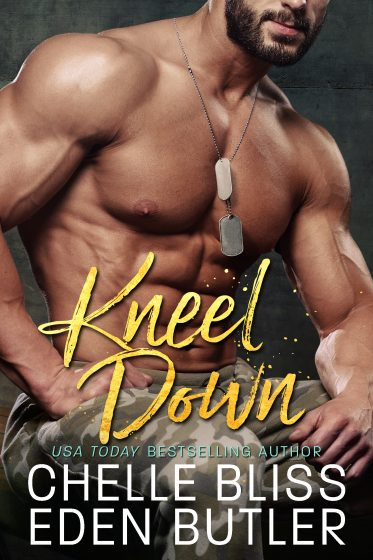 Cover Reveal: Kneel Down (Nailed Down #3) by Chelle Bliss & Eden Butler