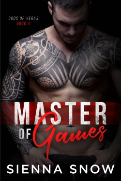 Cover Reveal: Master of Games (Gods of Vegas #2) by Sienna Snow