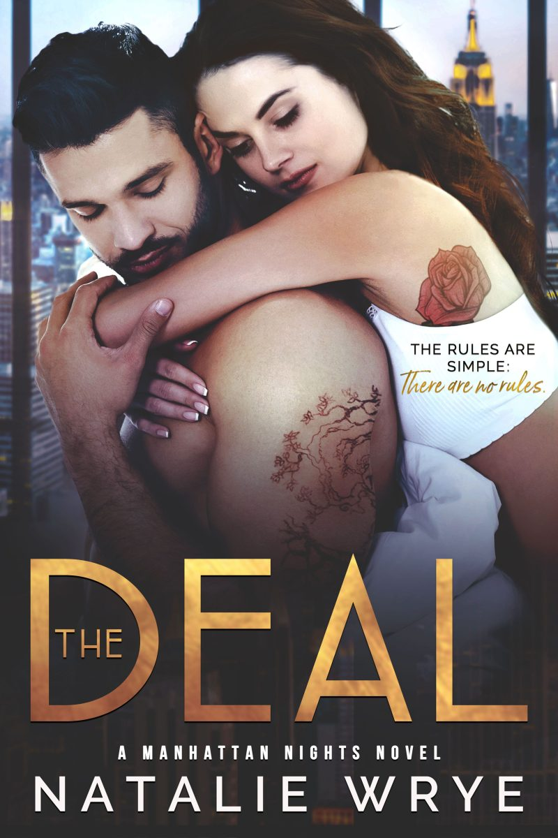 Cover Reveal & Giveaway: The Deal (Manhattan Nights #3) by Natalie Wrye