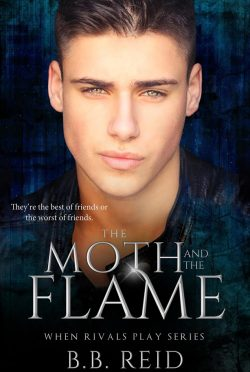 Cover Reveal: The Moth and the Flame (When Rivals Play #2) by BB Reid