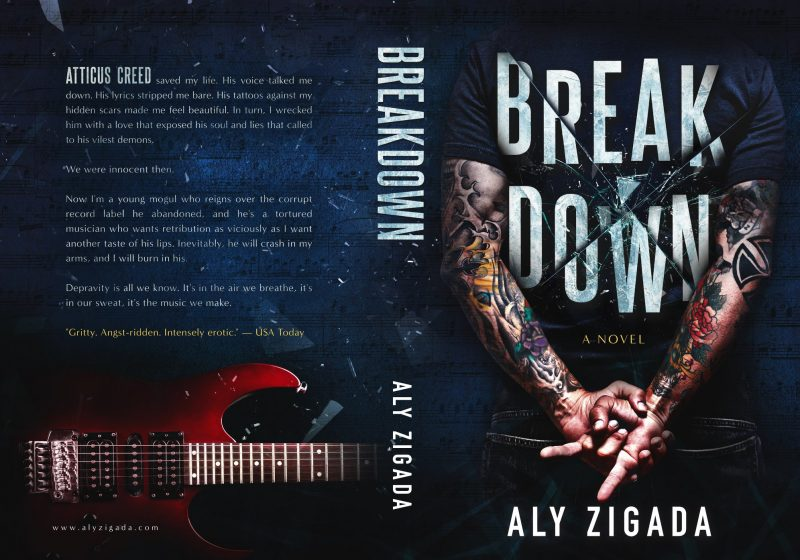 Cover Reveal & Giveaway: Breakdown by Aly Zigada – Books to Breathe