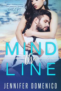 Cover Reveal & Giveaway: Mind the Line by Jennifer Domenico