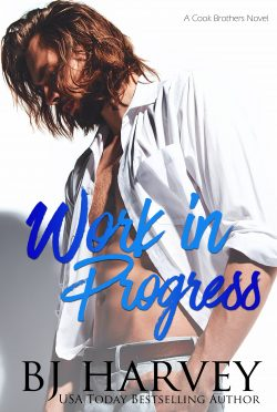 Cover Reveal & Giveaway: Work in Progress (Cook County #1) by BJ Harvey