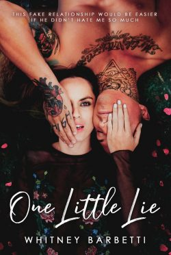 Cover Reveal: One Little Lie by Whitney Barbetti