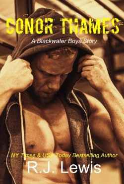 Cover Reveal: Conor Thames (Blackwater Boys #1) by RJ Lewis